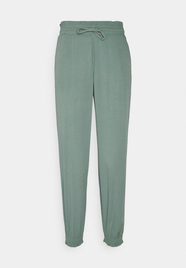 FLUID HAREMS PANTS - Pantalones - mineral stone blue