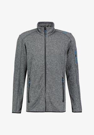 CMP HERREN STRICKFLEECEJACKE - Fleece jacket - grau (231)
