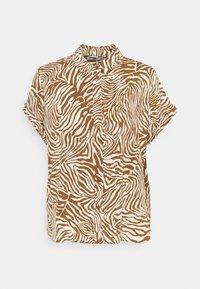 MAJAN SHIRT - Button-down blouse - mountain zebra