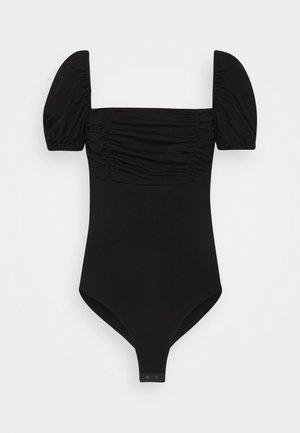 DEIDRE BODYSUIT - T-shirt imprimé - black