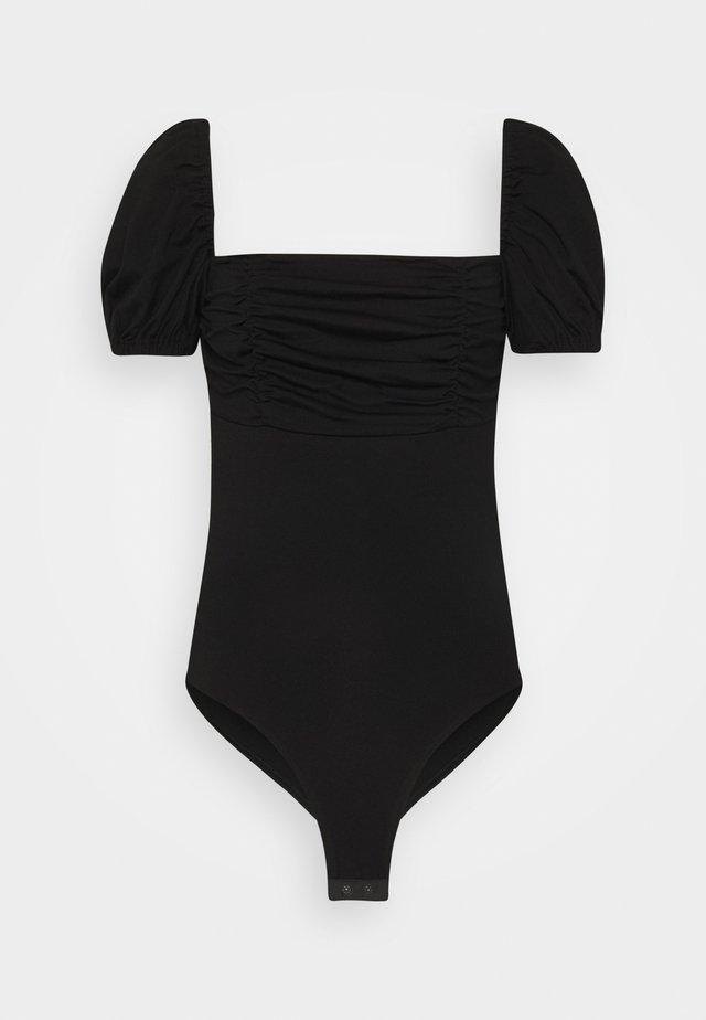 DEIDRE BODYSUIT - Print T-shirt - black