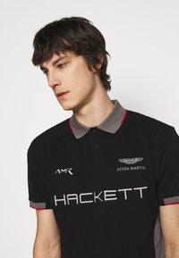 Hackett Aston Martin Racing - AMR  - Polotričko - black - 4