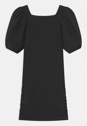 MANICHE BALOON - Žerzejové šaty - black