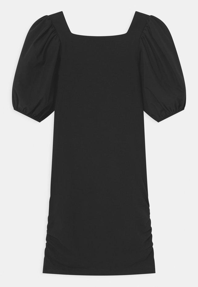 MANICHE BALOON - Jersey dress - black