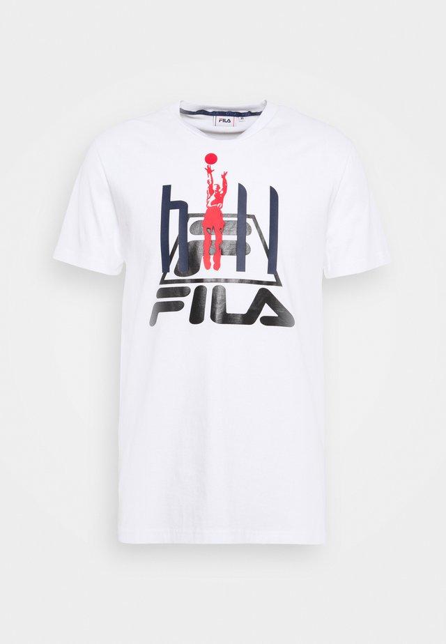 FICO - T-shirt imprimé - bright white