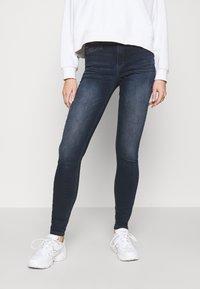 Tommy Jeans - NORA SKNY JDBST - Jeans Skinny Fit - jade dark blue - 0