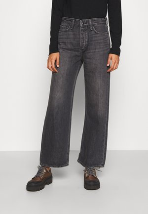 BROKEN IN LOGAN - Straight leg jeans - onyx