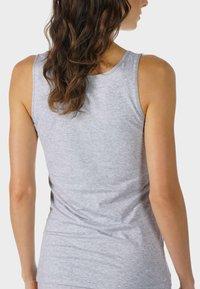 mey - TOP SERIE COTTON PURE - Undershirt - grey melange - 0