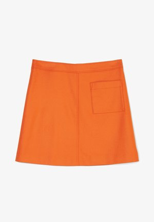 EASY SHAPE - A-line skirt - pumpkin orange