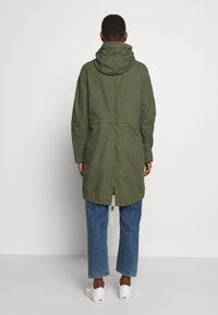 Q/S designed by - MANTEL - Parka - olive - 2