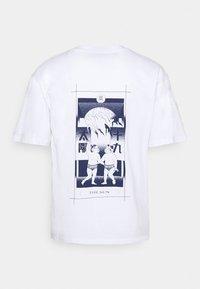 Edwin - TAROT DECK UNISEX - Print T-shirt - white - 6