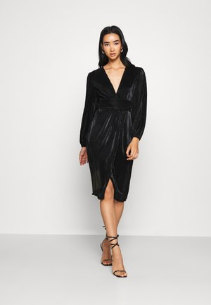 HANA MIDI - Cocktail dress / Party dress - black