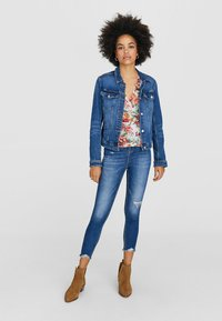 Stradivarius - Spijkerjas - blue-black denim - 1