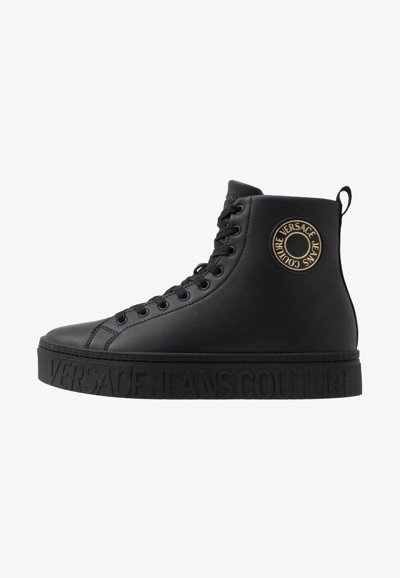 Versace Jeans Couture - CASSETTA LOGATA  - Sneakersy wysokie - black