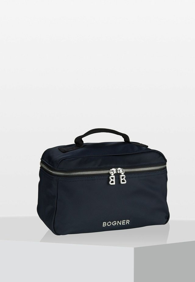Wash bag - dark blue