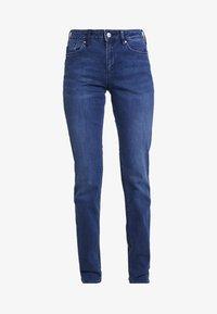 SMART - Džíny Straight Fit - blue denim stretch