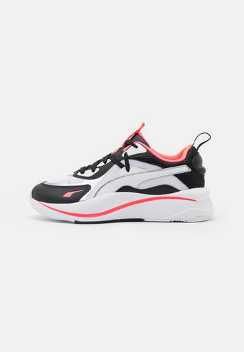RS-CURVE GLOW  - Trainers - white/black/ignite pink