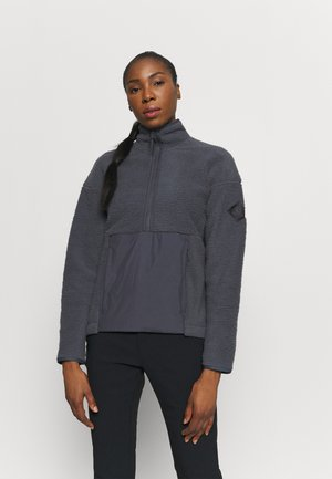 SNOWSHELTER - Fleece jumper - ebony