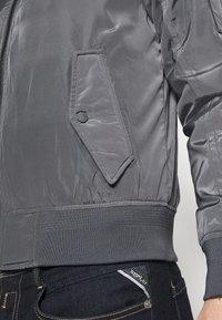 Schott - Bomber Jacket - steel grey - 4
