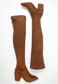 Steve Madden - JANEY - Over-the-knee boots - brown - 3