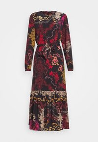 Ivko - DRESS FLORAL PRINT - Maxikjole - red/black - 0