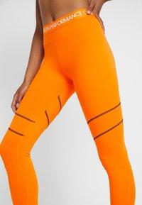 Calvin Klein Performance - FULL LENGTH  - Leggings - orange - 3