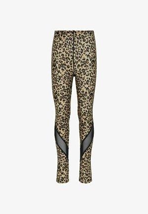 Leggings - Trousers - brow\camel