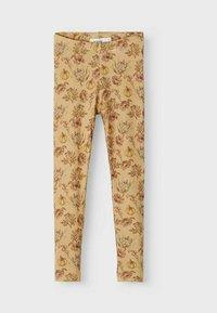 Lil' Atelier - SLIM FIT - Leggings - Trousers - light brown - 3