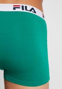Fila - 3 PACK TRUNK - Shorty - green bottle/grey - 2