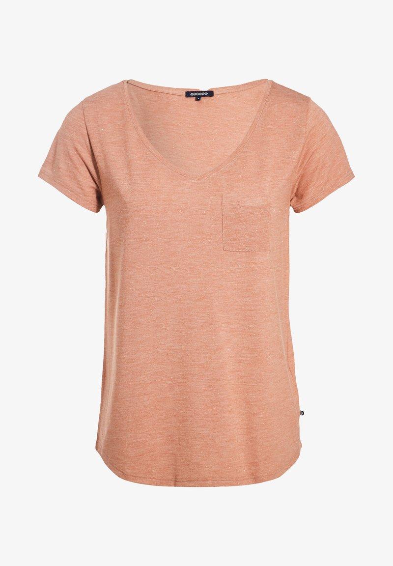 BONOBO Jeans T-Shirt basic - vert kaki/khaki R4bo1U