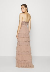 Maya Deluxe - CAMI TIERED MAXI DRESS WITH DETAIL - Occasion wear - taupe blush - 2