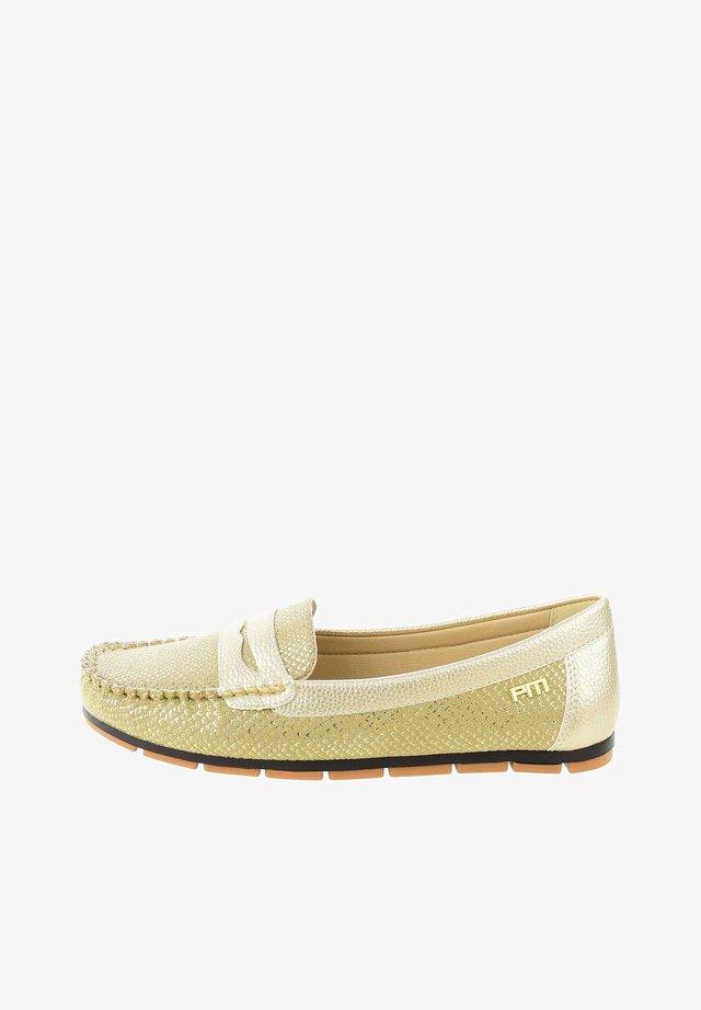 MARCHE - Chaussures bateau - gold