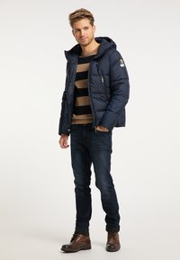 Mo - Winter jacket - marine - 1