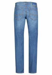 Pierre Cardin - LYON MODERN FIT - Straight leg jeans - darkblue - 3