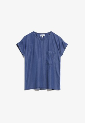 AJALAA - Blouse - basic denim blue