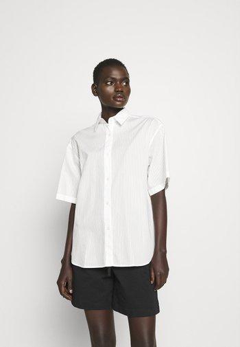 LINN - Button-down blouse - white