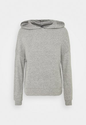 VMTIA HOODIE VIP - Stickad tröja - light grey melange