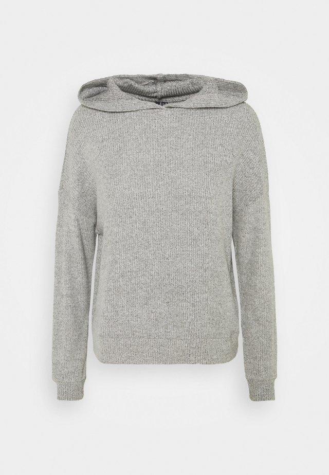 VMTIA HOODIE VIP - Sweter - light grey melange