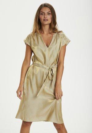 Cocktail dress / Party dress - golden beige