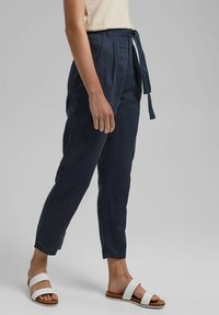 edc by Esprit - UTILITY  - Trousers - navy - 0