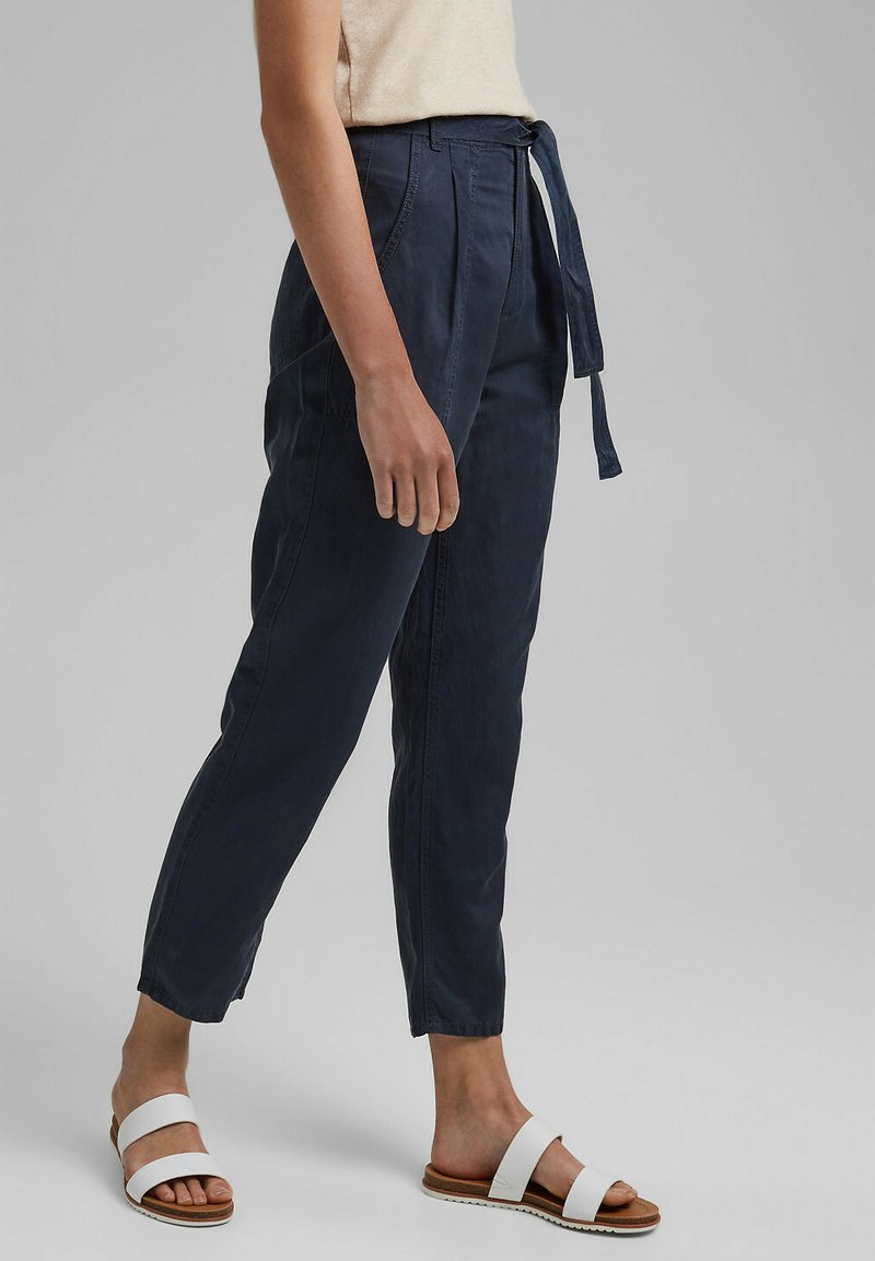 edc by Esprit - UTILITY  - Trousers - navy