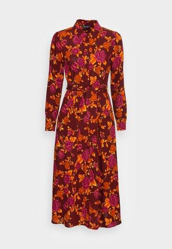 ROSIE MIDI DRESS DOHERTY - Shirt dress - merlot brown