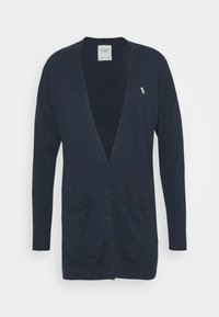 Abercrombie & Fitch - ICON CARDI - Cardigan - navy - 4