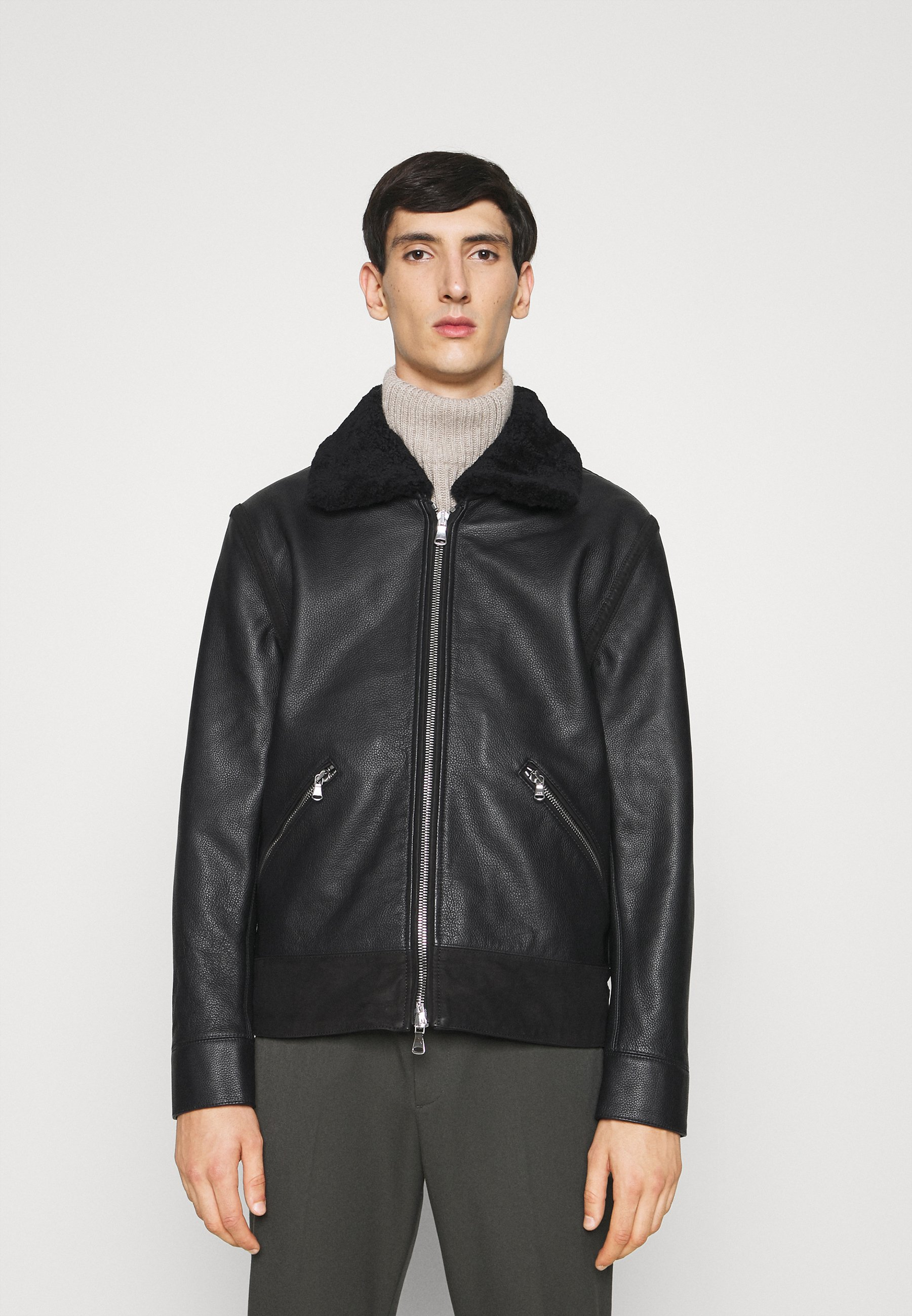 Uomo STERLING SHEARLING JACKET - Giacca di pelle