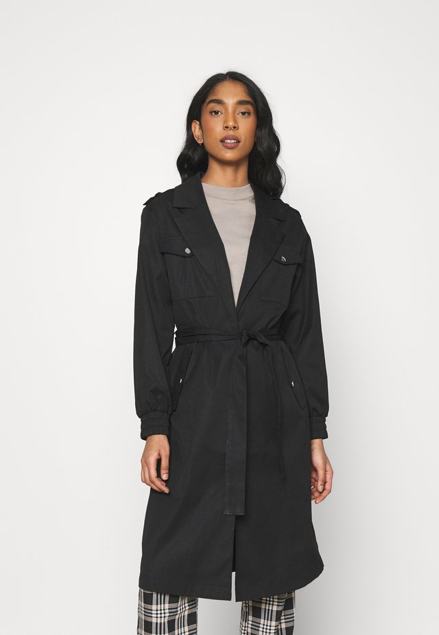 ONLGINA MARIA LONG - Trenchcoat - black