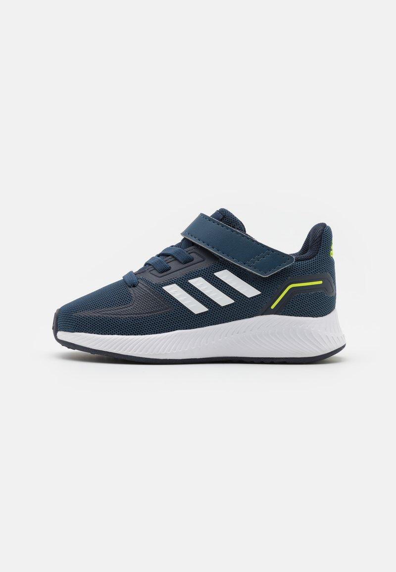 adidas Performance - RUNFALCON 2.0 UNISEX - Obuwie do biegania treningowe - navy/footwearwhite/legend ink