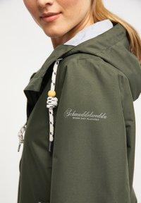 Schmuddelwedda - Impermeable - dark green - 3