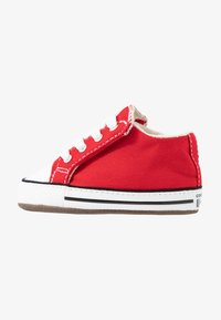 Converse - CHUCK TAYLOR ALL STAR CRIBSTER MID - First shoes - university red/natural ivory/white