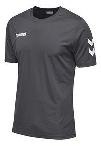 Hummel - CORE - Print T-shirt - asphalt - 2