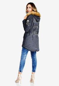 Cipo & Baxx - Winter jacket - anthracite - 6